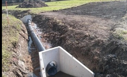 Flood Defence Bunds - Stoke Goldington