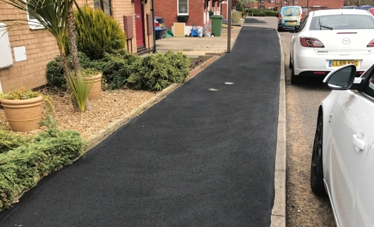 Innovative materials extend life of Footways in MK