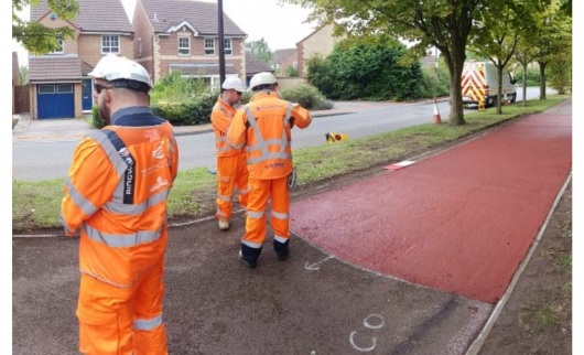 Repairs to Damaged Cycle Paths 18/19
