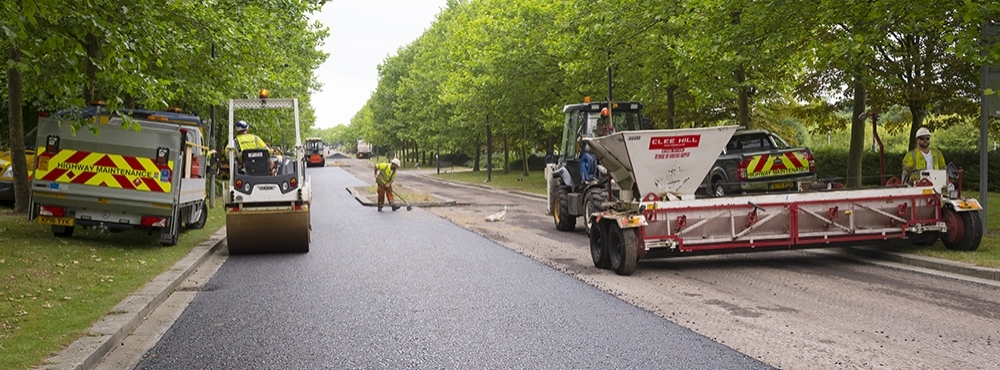 Department for Transport Grant Funding 2018 £2.271 million for Highway Asset Repairs