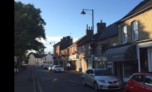 High St - Olney receives new Street Lights
